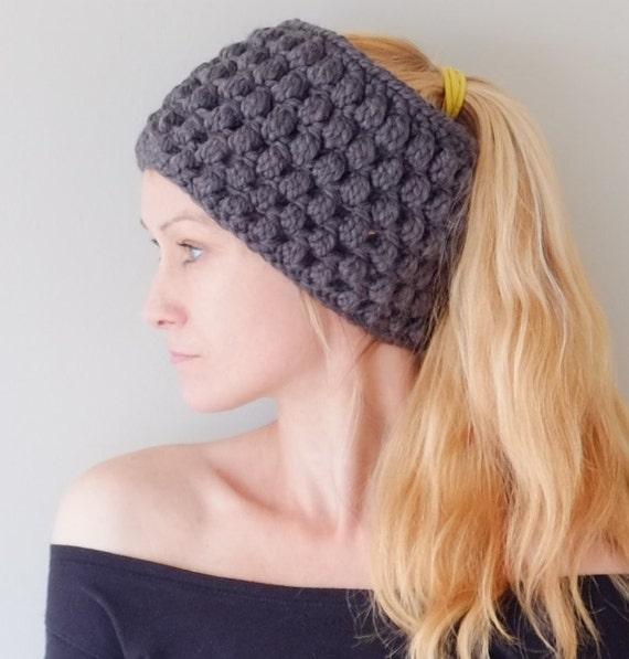 Crochet Chunky Headband Pattern Free Crochet Chunky Headband