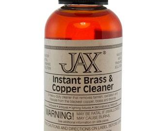 Jax Instant Brass & Copper Cleaner 2oz Bottle  (PM9014)