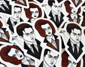 Mulder and Scully Vinyl Sticker