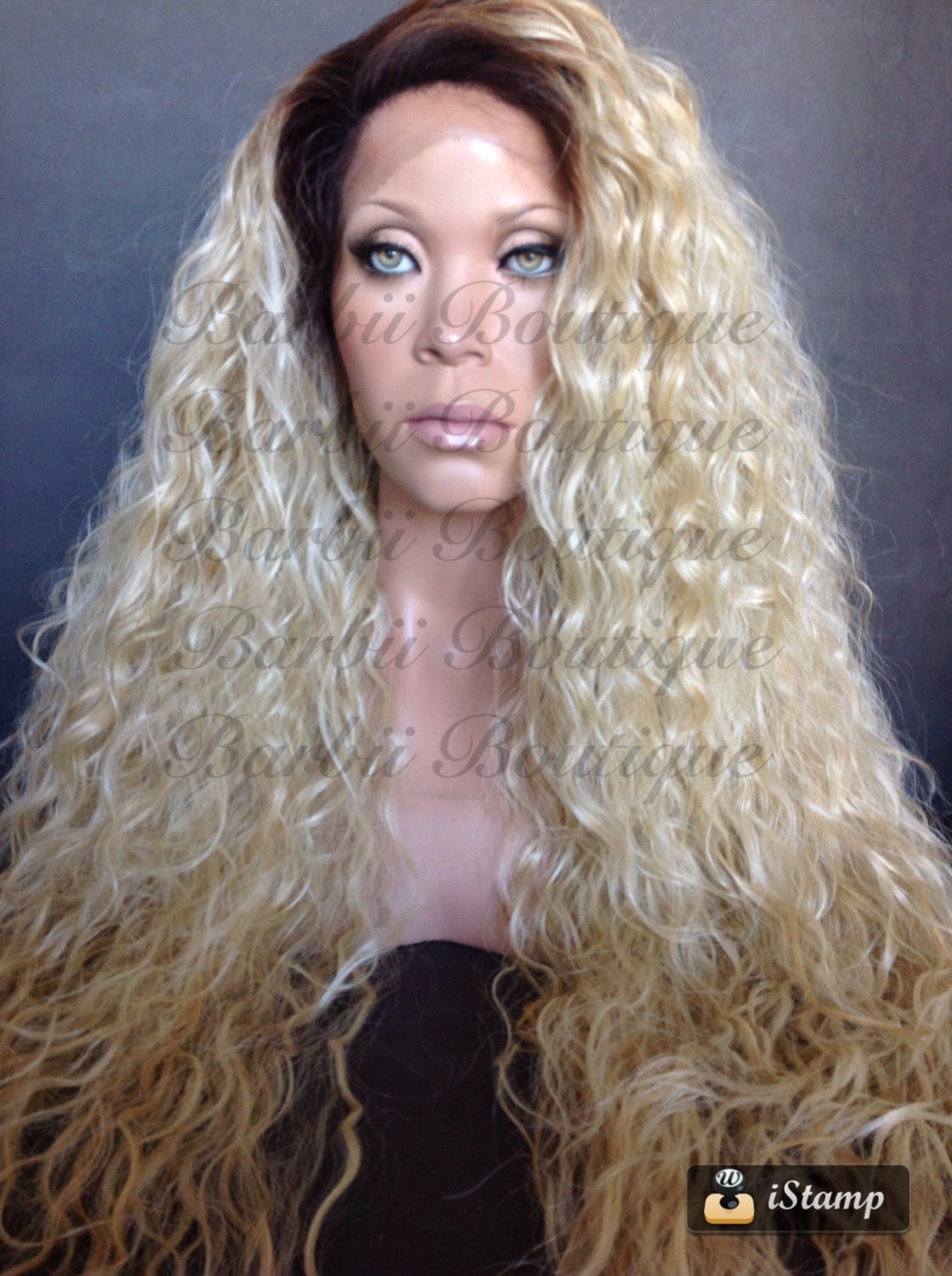 5 Ft White Blonde Wig 4
