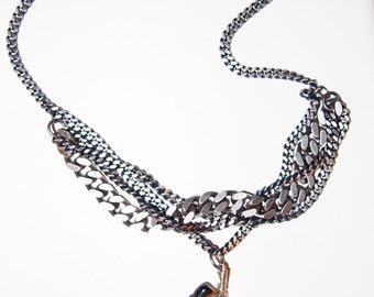 The Braided Chain Agate Necklace