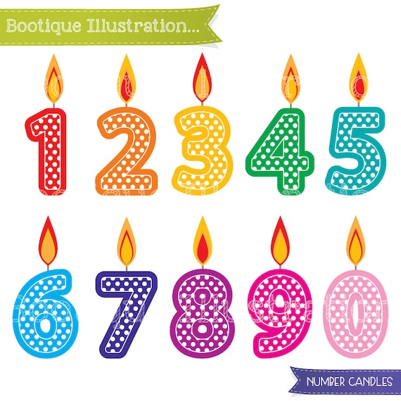 free clipart birthday numbers - photo #10