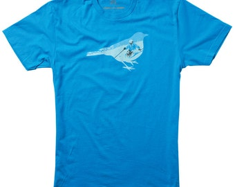 Bluebird Skiing Ski T-shirt