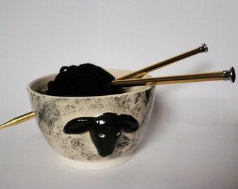 Lamb Yarn Bowl