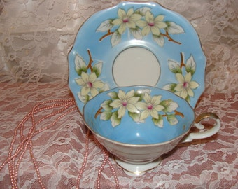 Hand painted Tea Cup and Saucer beauty
