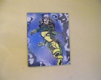 Rogue X-Men Spray Painting