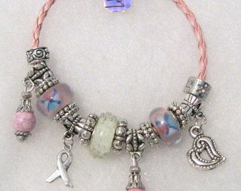 547 - Think Pink - Breast Cancer Awareness Bracelet