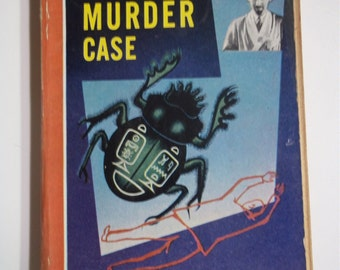 The Scarab Murder Case A Philo Vance Mystery by S.S. Van Dine Bantam Books #96 1947 Vintage Paperback