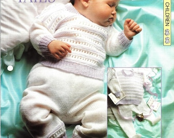 "Knitting pattern - Baby's ""Tops and Tails"" - Instant download"