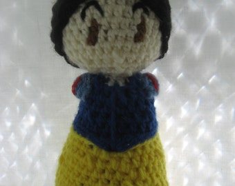 Crocheted Snow White