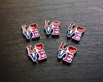 Love Floating Charm for Floating Lockets-Gift Idea