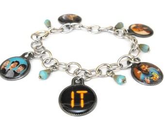 IT Crowd (BBC-TV) charm bracelet - Moss, Roy, Jen ooak