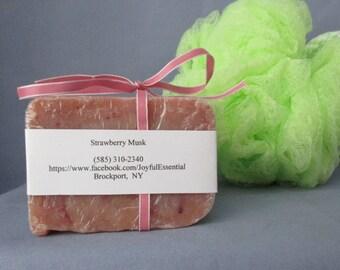 Strawberry Musk Soap