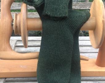 Mens Wool Socks Thick Socks Boot Socks Handmade Knitted in Superwash Wool Seamless Socks Gift for him Gift for Men