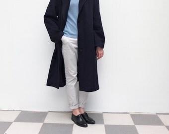 Cashmere wool oversize minimalist coat