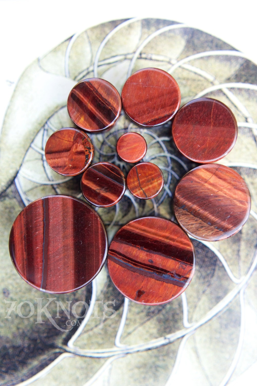 Red Tigers Eye Stone Red Tiger's Eye Stone ...