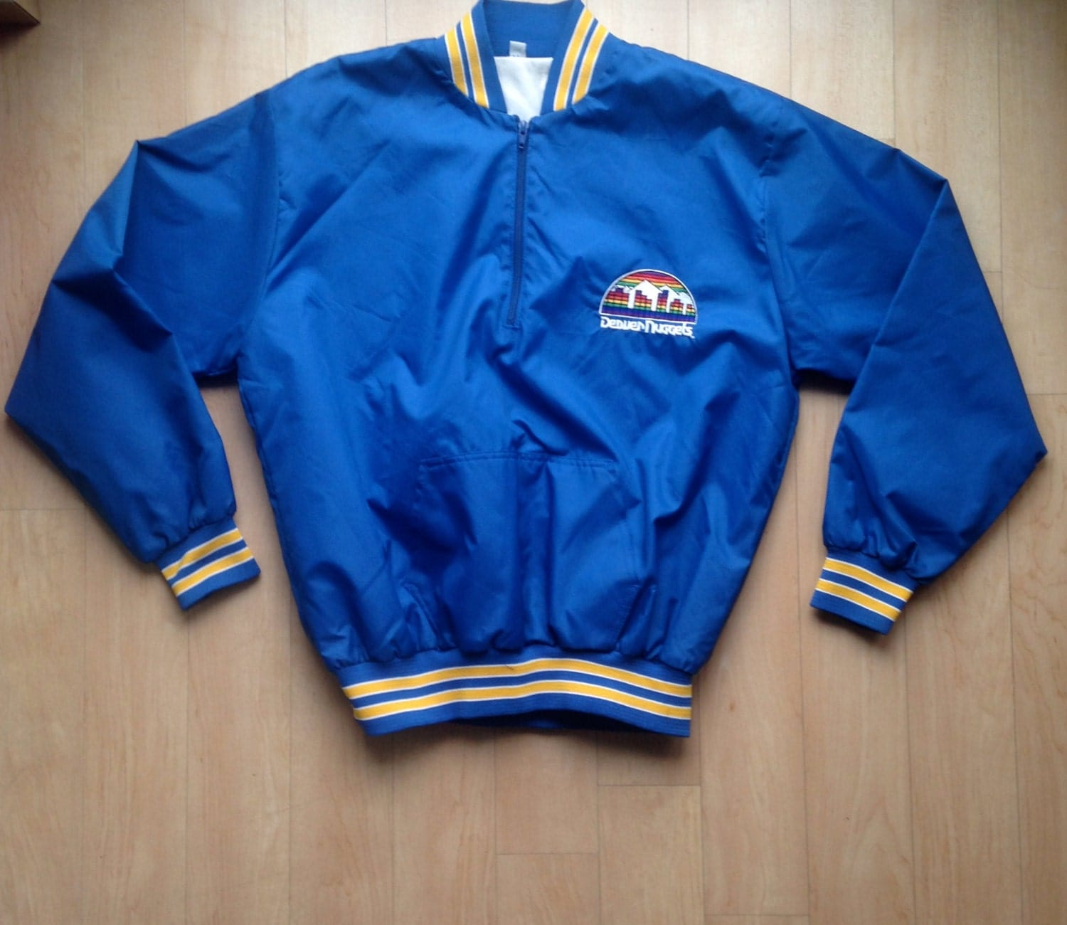 Vintage Denver Nuggets Jacket / Throwback NBA / Size Large