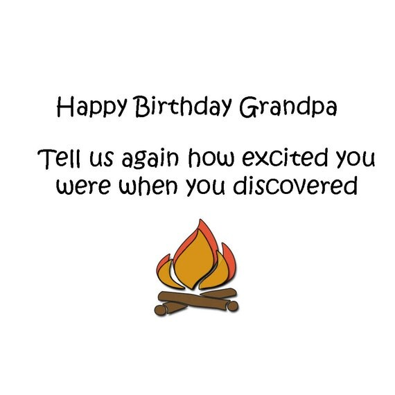 Happy Birthday Grandpa Birthday Cards Funny Birthday Humor – Happy Birthday Grandpa Card