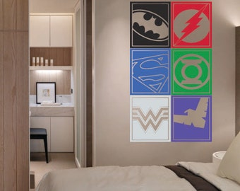 green lantern captain america diy iron on decal set deyastudio on
