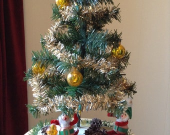 Artificial Christmas Tree Etsy - Vintage Artificial Christmas Trees