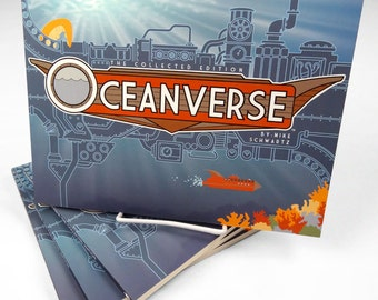 OCEANVERSE, original graphic novel, comic, adventure story, illustration