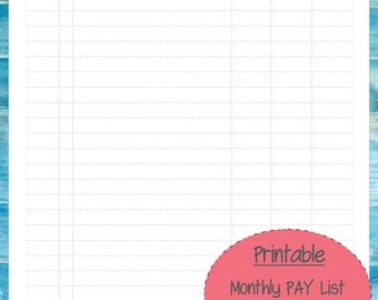 monthly payment coupon templates .