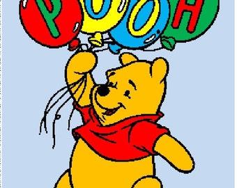 Winnie the Pooh Crochet Graphghan Pattern