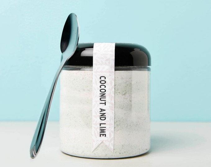 Coconut and Lime Bath Powder