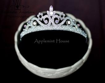 BIrthday Crown,Birthday Girl Crystal Stone Crown,Princess glitter crown,Tiara crown,Party crown,Adult Party Crown
