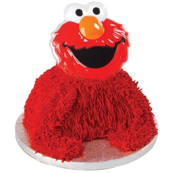 Elmo Cake Decorations : Elmo Cake Topper