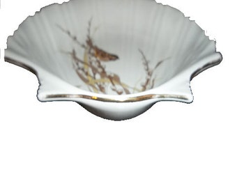 YARD SALE...Otagiri Japan Scallop Shell Plate