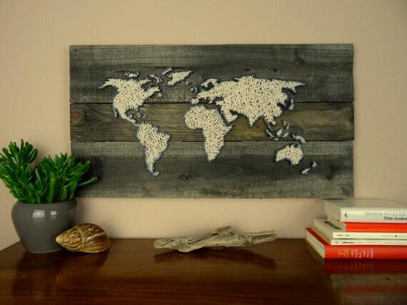 vintage weltkarte weltkarte holz weltkarte poster holz. Black Bedroom Furniture Sets. Home Design Ideas