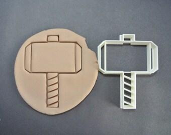 Thor Mjolnir Hammer inspired Cookie Cutter