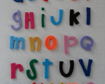 3 mm felt die cut letters