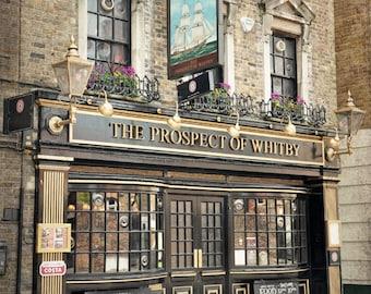 London Pub, London Photography, Black and White, Fne Art Print, British Decor, Travel Photo, Engligh Pub, Tavern, Office Decor, Wall Art