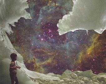 "Collage Print  ""Wonderwhirl"""