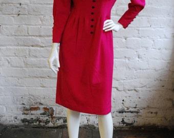 Vibrant Pink Smart Dress