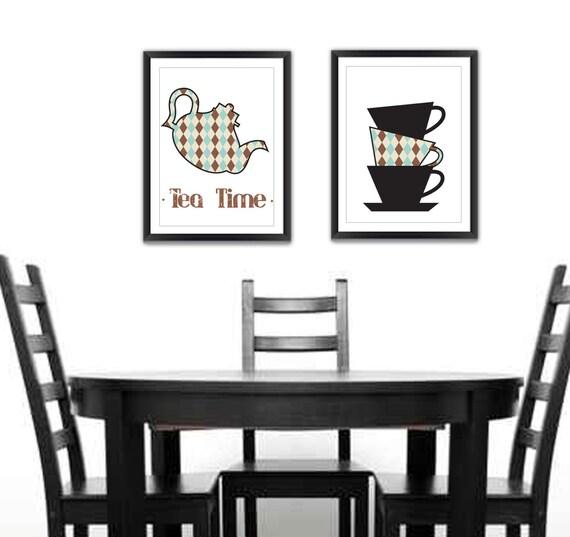 kitchen wall kitchen wall decor kitchen print set by