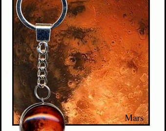 Mars Keychain with Quality descriptive Photo card