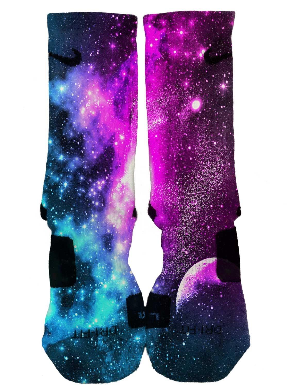 Nike elite custom galaxy socks fast and by dailyapparelcustoms for Custom elite