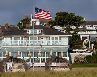 Chatham Beach House ~ Chatham Bars Inn, Chatham, MA, Cape Cod, New England, Beach House, Photograph, Artwork, Coastal Decor, Nautical Photo