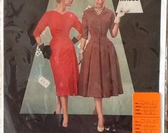 Avisco Advertising Print Vintage Fashion Paper Ephemera 1956