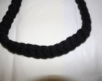 Braided Knit Necklace