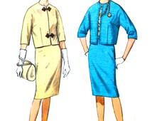 Circa 1963 Dress Suit Simplicity 4884 Vintage Sewing Pattern