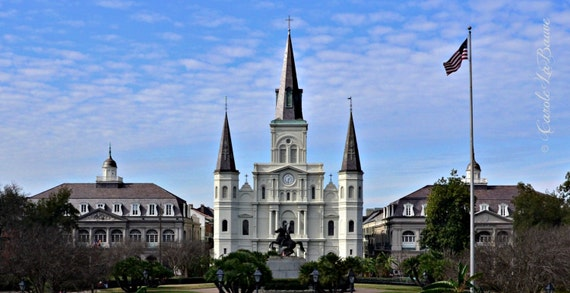 Saint Louis Cathedral Photograph ~ New Orleans, LA ~ French Quarter ~ Architecture ~ Jackson Square