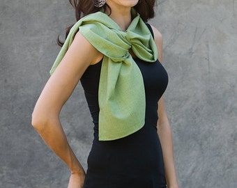 Scarves that are soft, lightweight, wrinkle resistant with UV UPF sun protection