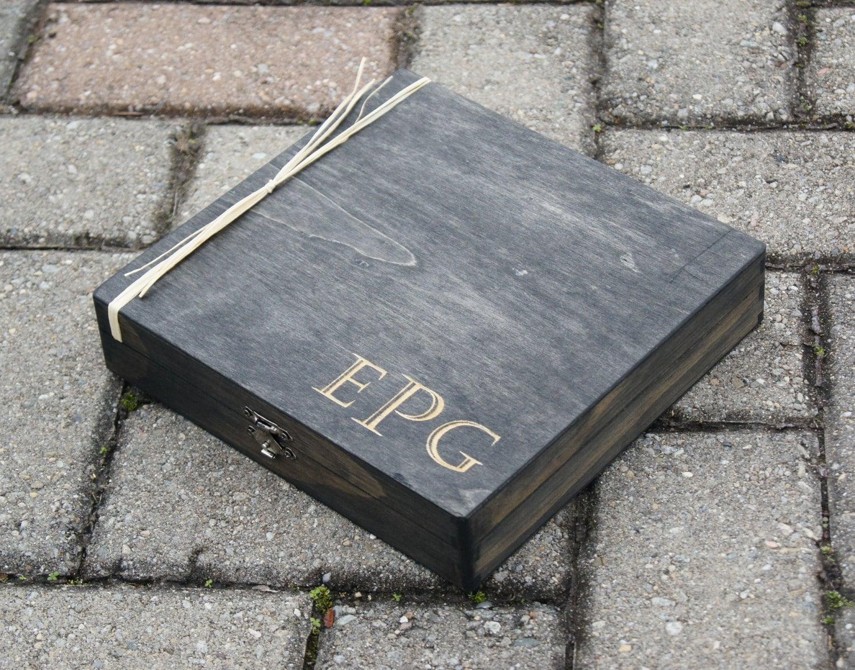 Personalized Cigar Box Custom Cigar Box Engraved Gift Box