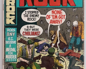 Our Army at War Sgt Rock 233 FNVF Joe Kubert DC Bronze Age June 1971