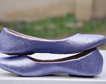 Wedding shoes Purple wedding shoes Purple shoes purple flats purple flat shoes bridal shoes lavender shoes high heels low heels custom shoes