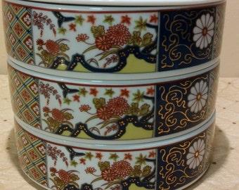 Imari Empress Stackable Bowl - 4 piece set